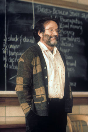 Robin Williams at Bunker Hill Community College