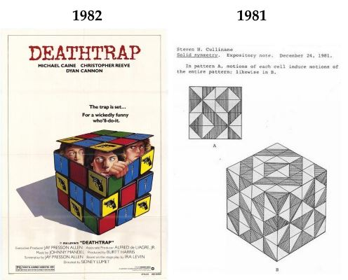 IMAGE- Rubik's Cube in an ad, and some pure mathematics