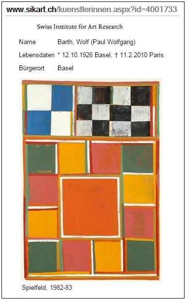 IMAGE- Spielfeld (1982-83), by Wolf Barth
