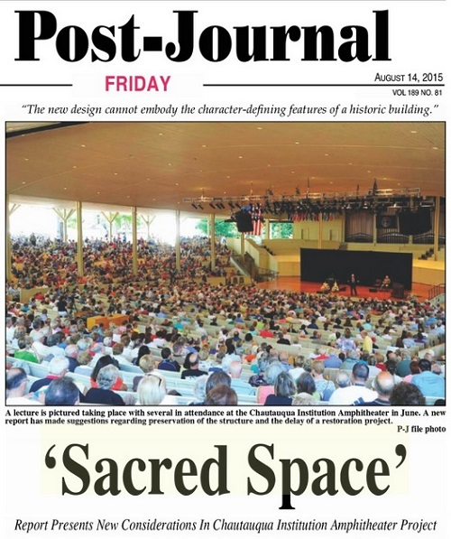 'Sacred Space' at Chautauqua Institution