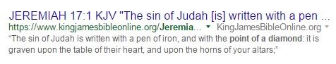 Jeremiah 17:1