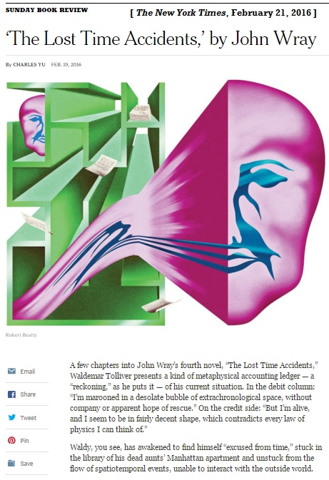 'Watchmen'-like art in the Feb. 21, 2016, NY Times Book Review