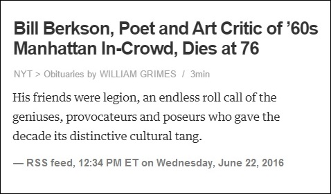 NYT 'distinctive cultural tang' obituary