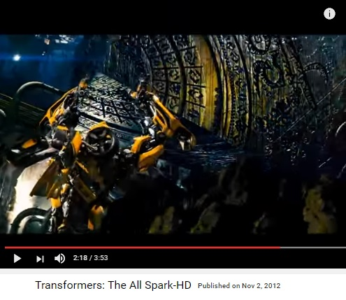 Hollywood analogue to Solomon's Cube in 'Transformers'