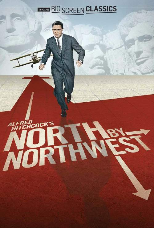 Cary Grant in 'North by Northwest'