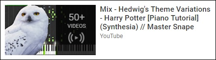 'Mix: Hedwig's Theme Variations'- YouTube