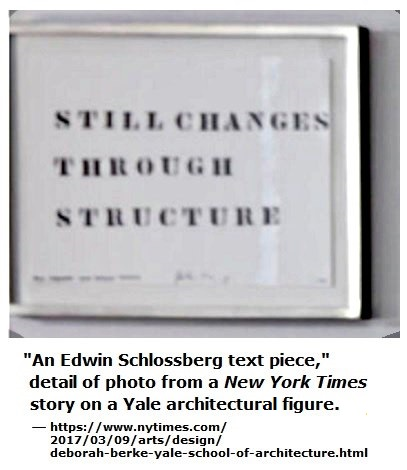Edwin Schlossberg, 'Still Changes Through Structure' text piece