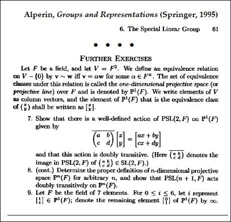 http://www.log24.com/log/pix18/180824-Alperin-Groups_and_Representations-1995-p61-Further_Exercises.jpg