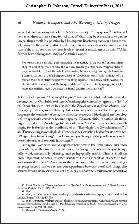 Warburg at Cornell U. Press