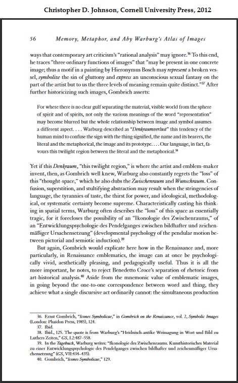 Warburg at Cornell U. Press