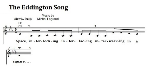 'The Eddington Song'