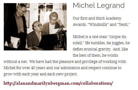 Legrand tribute related to 'Eddington Song'
