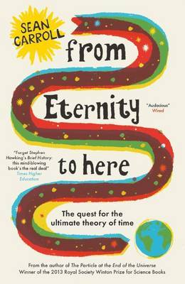 British cover (2011) for 'From Eternity to Here,' by Sean Carroll