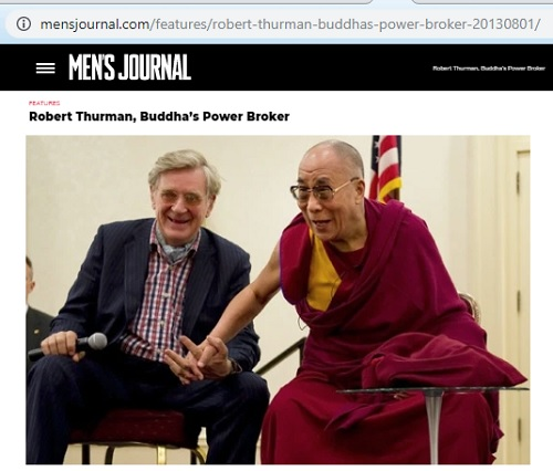Robert Thurman, Buddha's Power Broker'