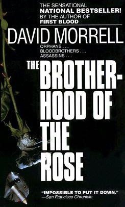 Morrell -'Brotherhood of the Rose' cover