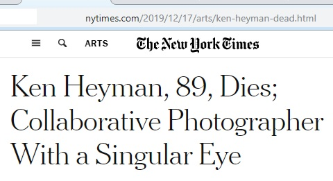 Photographer Key Heyman, 89, dies
