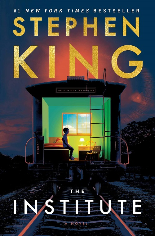 Cover of 'The Institute,' a novel by Stephen King