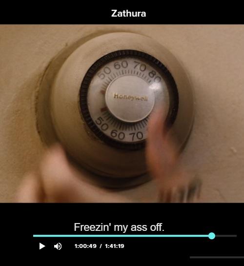 Kristen Stewart — 'Freezin' my ass off'
