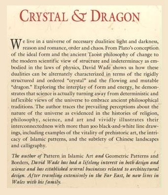 'Crystal and Dragon' by David Wade, publisher's description