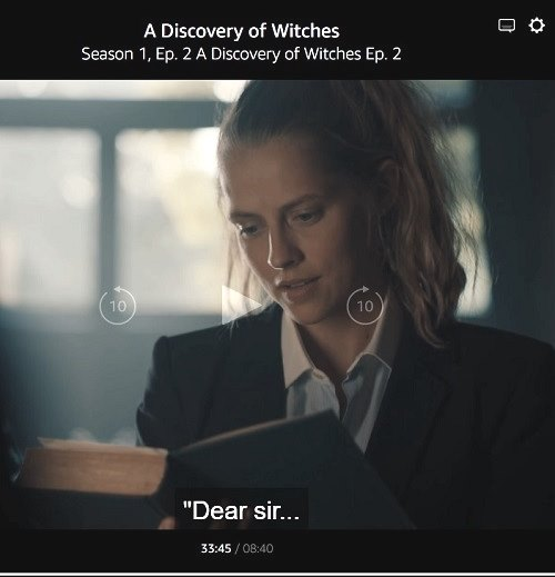 'A Discovery of Witches' S1 E2 0:33:45
