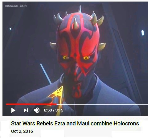 Sith Holocron in 'Star Wars Rebels'