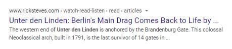 'Unter den Linden: Berlin's main drag comes back to life'