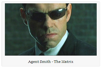 IMAGE- Agent Smith from 'The Matrix,' 1999