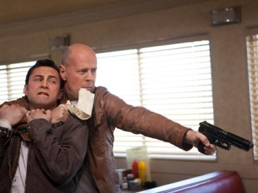 IMAGE- Diner scene from 'Looper'