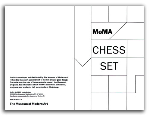 Image of MOMA Chess Set cover.
